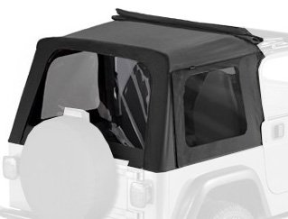 Bestop 58699-35 Black Diamond Tinted Window Kit for Sunrider for 1997-2006 Wrangler TJ