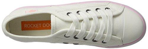 Magic Sneaker pastal Dog Donna Rocket Weiß white xw51qE8C