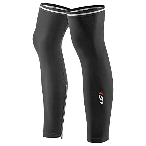 Louis Garneau Cycling Zip-Leg Warmers 2, Black, Large