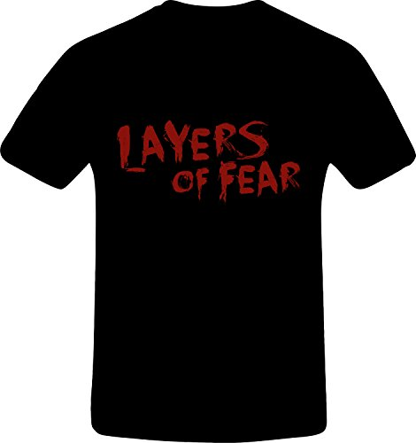 Layers Of Fear, Best Quality Custom Tshirt (M, BLACK)