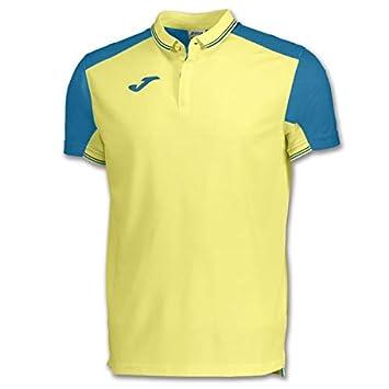 Joma Polo Granada Amarillo-Azul M/C, Hombre: Amazon.es: Ropa y ...
