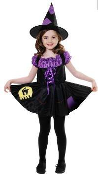 f010fae8379 Halloween girls Witch Cat Costume Medium 7-9 Years