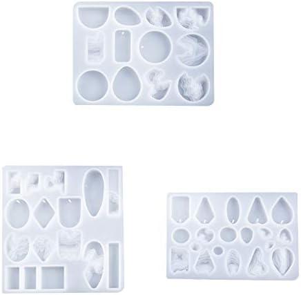 Varadyle Island Earring Pendant Epoxy Resin Casting Molds DIY Silicone Resin Resin Decorative Crafts