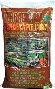 Sustrato universal para huerto y flores orgánicas, terragraina, 50 litros