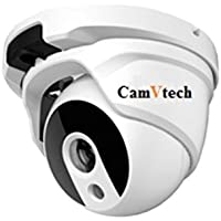 CamVtech USA High Definition 1/3 SONY Sensor CMOS 1400TVL MP high resolution of HD zoom lens Dome Camera Wide Angle Lens, Infrared automatic waterproof