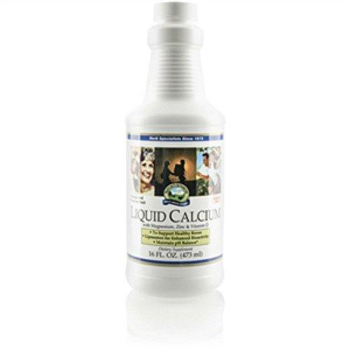 Naturessunshine Calcium Liquid Supports Bones Health 16 fl.oz (Pack of 2) For Sale