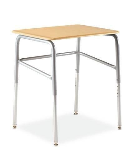 HON Accomplish Adjustable Height Student Desks - Rectangle - 4 Legs - 26