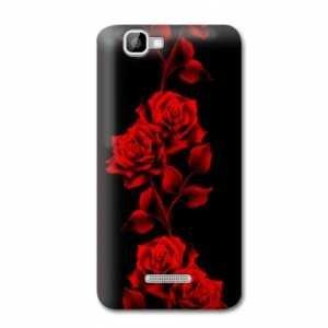 Case Wiko Kite Fleurs - Rose Rouge N