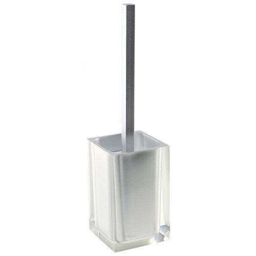 "Gedy RA33-73 Rainbow Toilet Brush Holder, 2"" L x 3.86"" W, Si"
