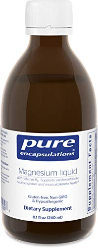 Pure Encapsulations – Magnesium Liquid – Hypoallergenic Combination to Support Musculoskeletal, Cardiometabolic and Emotional Health* – 240 ml. Review