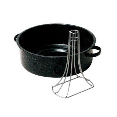 Granito Ware 0530 - 2 vertical fuente para horno, 2 piezas: Amazon ...