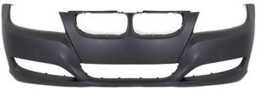Crash Parts Plus Primed Front Bumper Cover Replacement for 2009-2011 BMW 3 ()