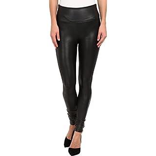 SPANX Women's Faux Leather Leggings, Black, X-Small