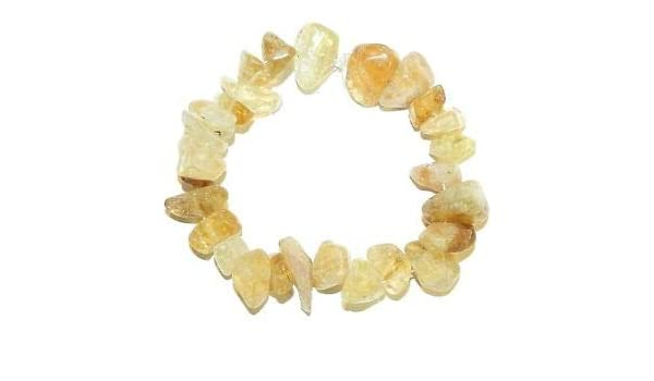 Gold plated medium dark citrine hair clip
