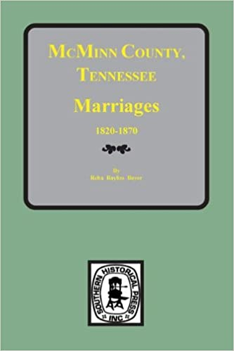 mcminn county tennessee marriage license