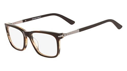Eyeglasses CALVIN KLEIN CK8517 237 AMBER HORN by Calvin Klein