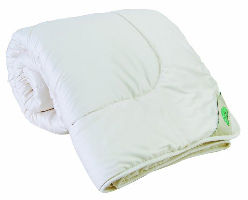 Natura Organic Wool-Filled Queen Comforter