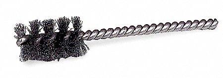 1/2'' Power Spiral Brush, Round Shank, 1'' Brush, 3-1/2'' Overall Length, 10 PK