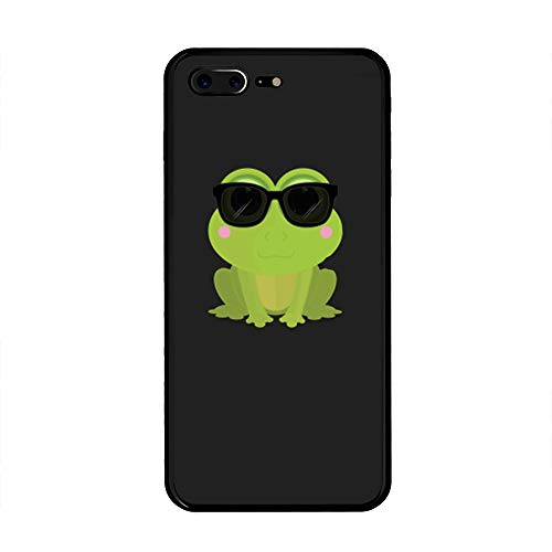iPhone 7 Plus/iPhone 8 Plus Case, Cool Frog TPU Customization for iPhone 7 Plus/iPhone 8 Plus 5.5 inch Protective Shell ()