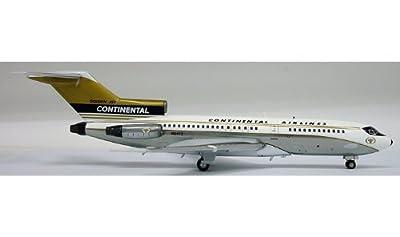 inFlight 200 Continental Golden Jet B727-100 Model Plane