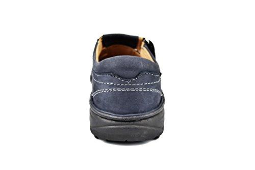 Couleur Sandales Hommes pour en Hommes pour Taille Sandales Hommes Bleu Hommes d'été Cuir Homme Sandales pour 40 Marine de Zerimar Sandales Sandales Trekking Randonnée APHSa66