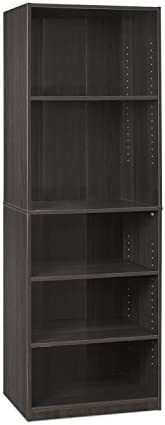 FURINNO JAYA Simply Home 5-Shelf Bookcase - the best modern bookcase for the money