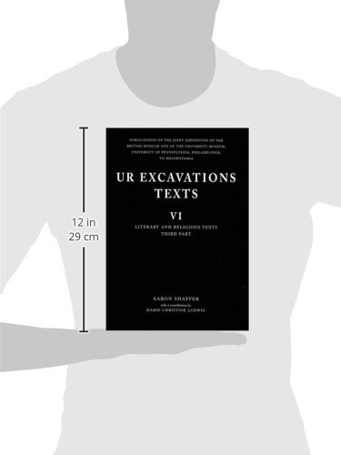 Ur Excavation Texts VI: Literary and Religious Tests - Third Part (v. 6, Pt. 3) by Brand: British Museum Press