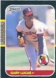 Amazoncom 1987 Donruss Baseball Card 618 Gary Lucas Near