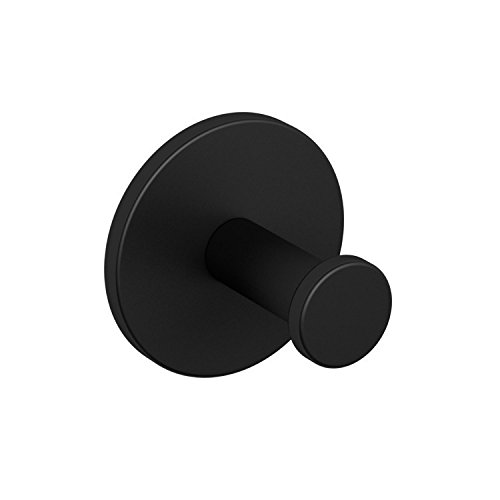 Nameeks NNBL0012 Boutique Hotel Matte Bathroom Hook, Black by Nameeks