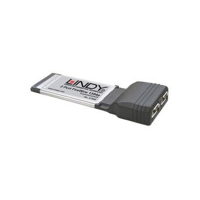 Lindy - Lote de 10 tarjetas ExpressCard FireWire 1394 a, 2 ...