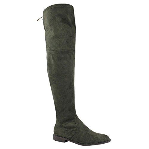 Yoki Damen Anora Fashion Boot Olive