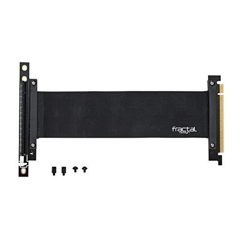 Fractal Design Flex VRC-25 – PCI-E Riser for Define R6 – Define S2 – Define S2 Vision – Meshify S2 – PC Case – Highly…