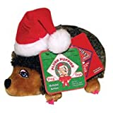 Kyjen Holiday Girl Hedgehog with Hat Large Toy, My Pet Supplies