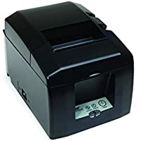 Star Micronics 39449460 Model TSP654IIC-24 US Thermal Printer, Cutter, Parallel, Putty, With External Power Supply