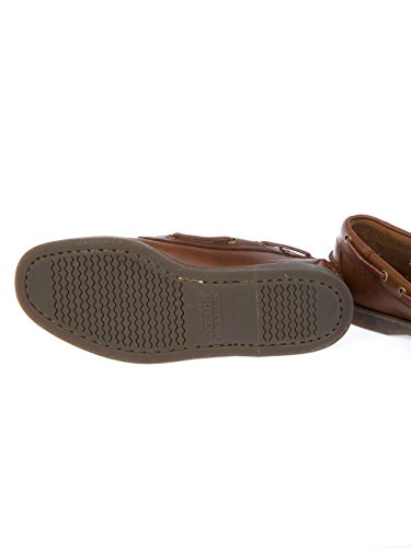 Sebago Homme B72743BROWN Marron Cuir Mocassins