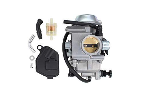 Carburetor w/Filter Carb for Honda Big Red FourTrax 250 300 TRX250 TRX300 Foreman 400 450 TRX400FW TRX450FE Rancher 350 ATV -