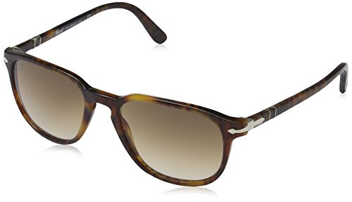Persol Women's PO3019S Designer Sunglasses, Havana/Brown Gradient by Persol