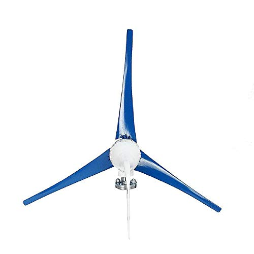 Dyna-Living Wind Turbine Generator 800W 24V Businesses 3 Blade with Controller for Marine RV Homes Industrial Energy (Best Marine Wind Generator)