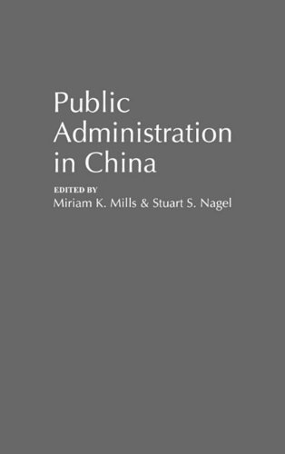 Public Administration in China (Contributions in Political Science)