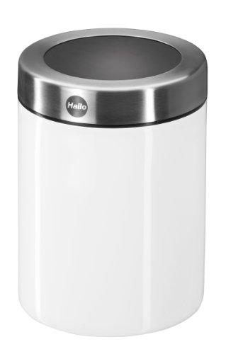 Hailo 0833-770 KitchenLine Tischabfallsammler 1 L, weiß
