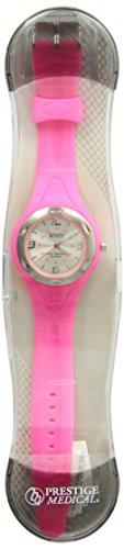 Prestige Medical 1888 Sportmate Scrub Watch, Neon Pink