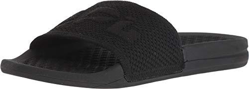 APL: Athletic Propulsion Labs Women's Big Logo Techloom Slide Sandals, Black, 10 M US