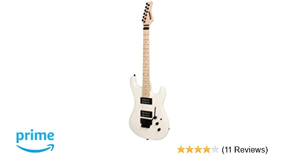 Amazon.com: Kramer Pacer Classic Electric Guitar, Floyd Rose Tremolo, Pearl White: Musical Instruments