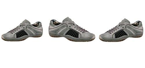 Bugatti Herren Schnürschuh Sneakers Schnüren Schuhe, Grau, Gr. 40