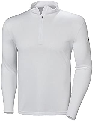 Helly Hansen HH Tech 1/2 Zip Polo, Hombre, Blanco (Blanco 001 ...