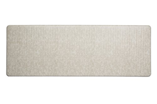 Imprint Cumulus9 Kitchen Mat Chevron Series Island Area Runner 26 in. x 72 in. x 5/8 in. Goose Brown Anti Fatigue Dry Area