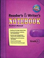 Scott Foresman Reading Street Reader's and Writer's Notebook Teacher's Manual Grade 3