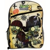 Amazon.com: Plants Vs Zombies Pzz Brains Adjustable Backpack: Sports & Outdoors