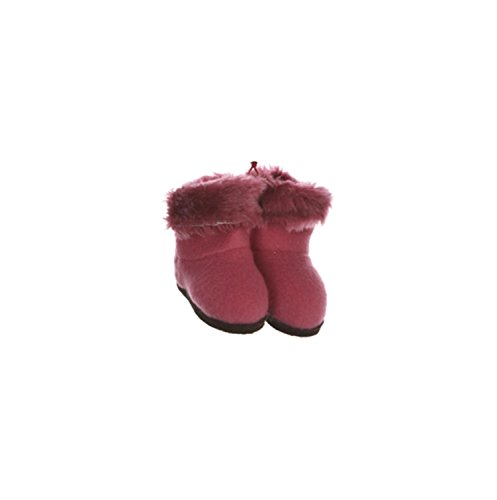 Faux Fur Christmas Boot - 5
