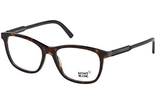 Mont Blanc Eyeglasses (ASIAN FITTING) MB0631-F/V 056 Havana Frame/Demo Lenses